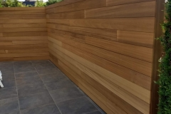 Wallframe met Thermo Ayous als tuinafsluiting